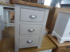 Portland Stone 3 Drawer Bedside (3)
