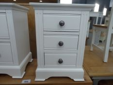 Banbury White Painted Large Bedside Table (38)