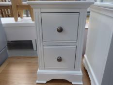 Banbury White Painted Small Bedside Table (14)