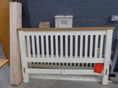 5035 Hampshire Ivory Painted Oak 5ft King Size Bed Frame (24)