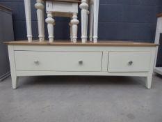 5093 Malvern Shaker Ivory Painted Oak Triple Wardrobe With Mirror (24)