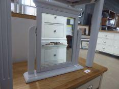 Banbury Grey Painted Trinket Mirror (44)