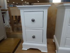 Banbury White Painted Small Bedside Table (57)