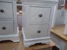 Florence White Painted Bedside Cabinet (7)