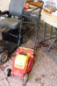(1090) Wolf Garten 2.32 E-1 electric lawn mower, no grass box