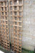 Pair of 6'x1' trellis panels