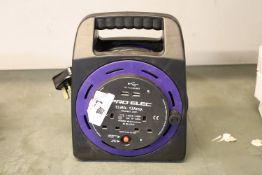(1058) Pro Elec 15m cable extension reel