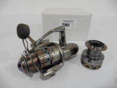 Okuma Aveon fixed spool reel