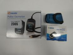 2x Oximeters by Nonin and Aeon
