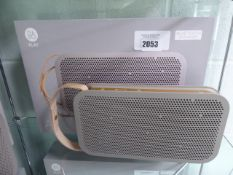Bang & Olufsen Beoplay A2 portable bluetooth speaker with box