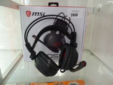 MSi DS502 gaming headset with box