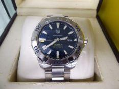 Tag Heuer Calibre 5 Aquaracer gents wristwatch