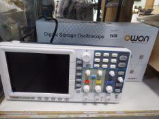 Owon digital storage oscilloscope