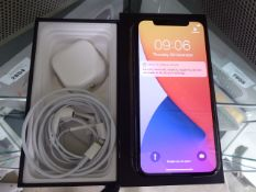 Apple iPhone 11 Pro in space grey, 64gb storage with box with accessories