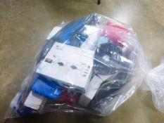 Electrical sundries including Defender hybrid dome camera, HDMI extender kits etc