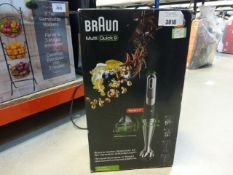 A boxed Braun Multi Quick hand whisk