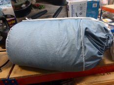 Cordless double duvet cover