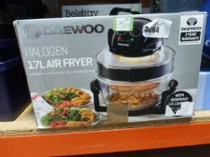 Daewoo halogen 17 litre air fryer