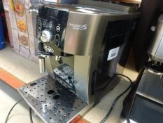 Unboxed, DeLonghi Magnifica S Smart coffee machine (on its own, no accessories)