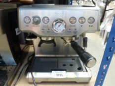 Unboxed Sage Brewster Express coffee machine (just on its own, no accessories or attachments)