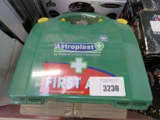 2 first aid kits