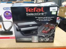 A boxed Tefal select grill