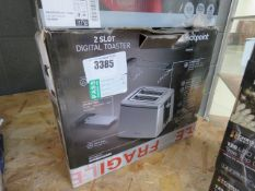 3422 - Boxed Hotpoint 2 slice toaster