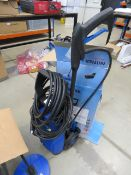 4230 Small Nilfisk pressure washer with patio cleaning head