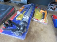 Mortar gun set and 2 infrared thermometers