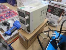 Duratool regulated power supply