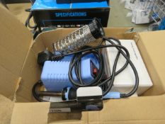 Small Duratool soldering station