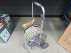Hozelock hose reel and hose