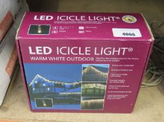 LED icicle light kit