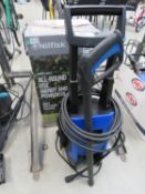 Nilfisk 135 bar electric pressure washer with box