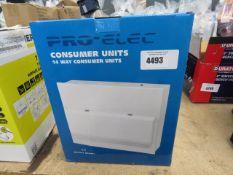 Boxed consumer unit