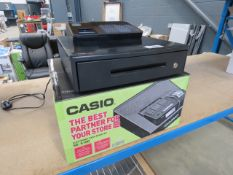 Boxed Casio cash register