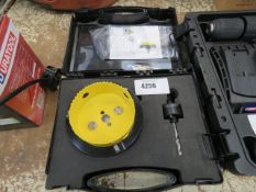 Large hole cutter