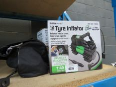 2 boxed and 1 unboxed Bonaire tyre inflators