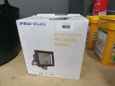 2 Pro-Elec PIR floodlights
