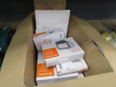 Box of mini floodlights