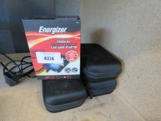 Energiser jump pack and 3 unboxed powerpacks