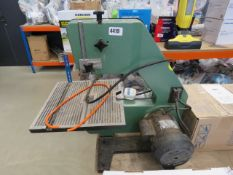 NuTool 3 speed bandsaw, worn cable and broken belt