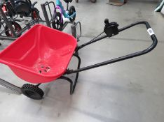 Earthway red seed spreader