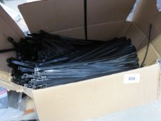 Large box of heavy duty cable ties