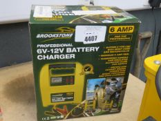 4368 Boxed 6-12V battery charger