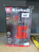 Einhell submersible pump
