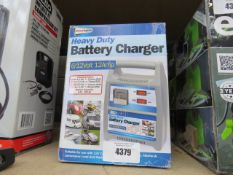 Streetwise heavy duty battery charger