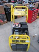 4198 Champion petrol powered pressure washer (no hose)