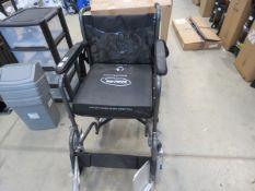 Four wheel wheelchair