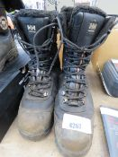 Pair of Helly Hansen used work boots, size 9